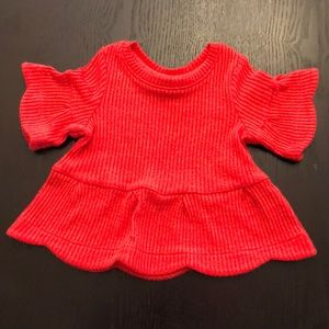 Like New OshKosh Red Shirt 18 months